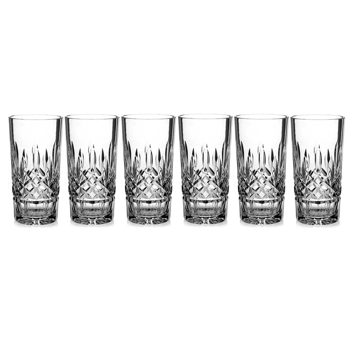 Waterford Crystal, Lismore Hiball Tumbler, Boxed Set 5+1 Free