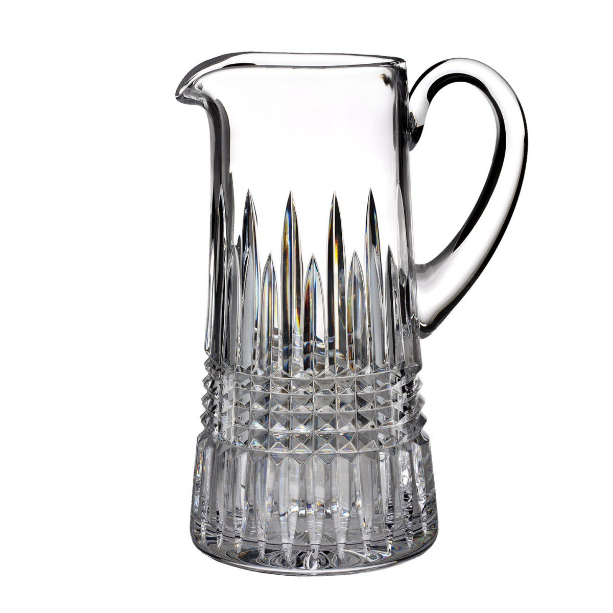 Waterford Crystal, Lismore Diamond Crystal Pitcher