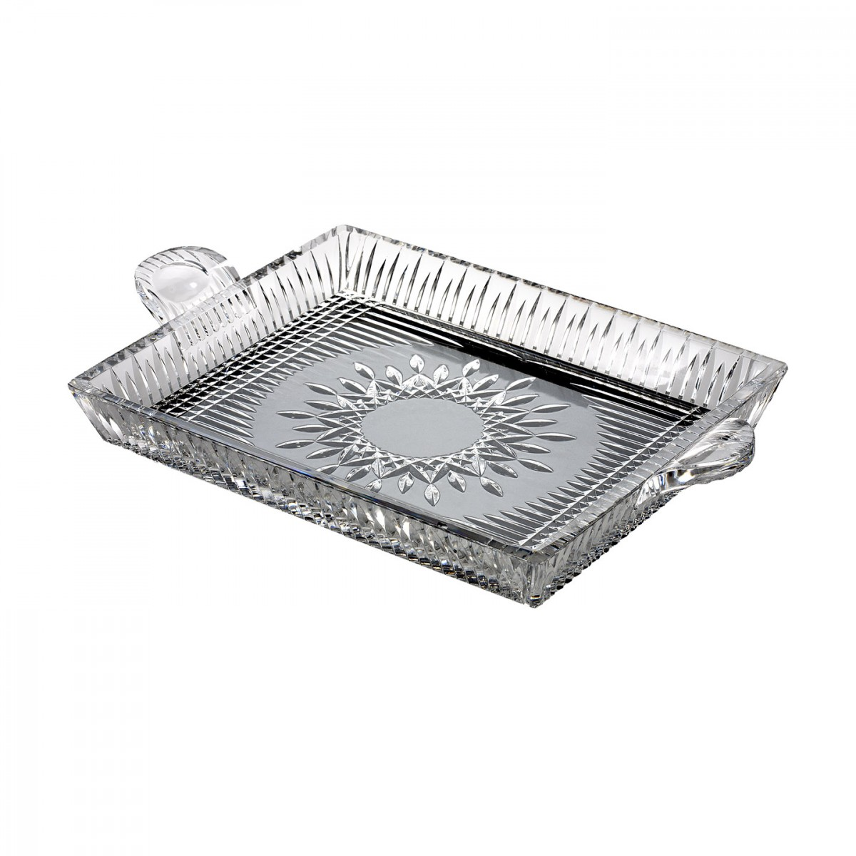 Waterford Crystal, Lismore Diamond Square Serving Tray