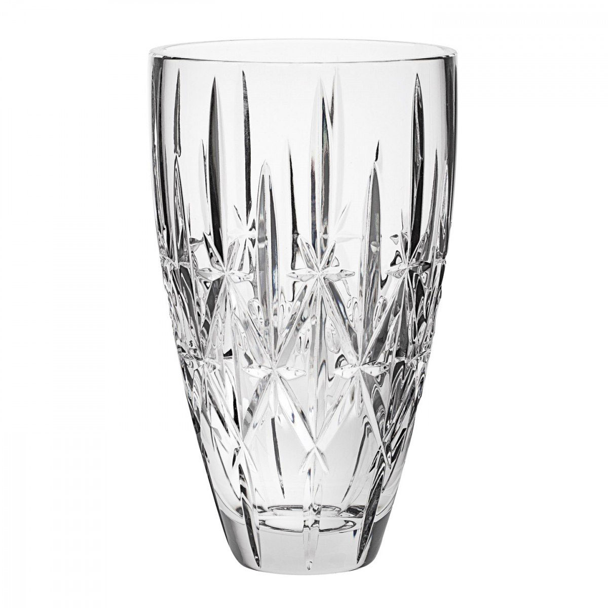 "Marquis by Waterford Crystal, Sparkle 9"" Crystal Vase"