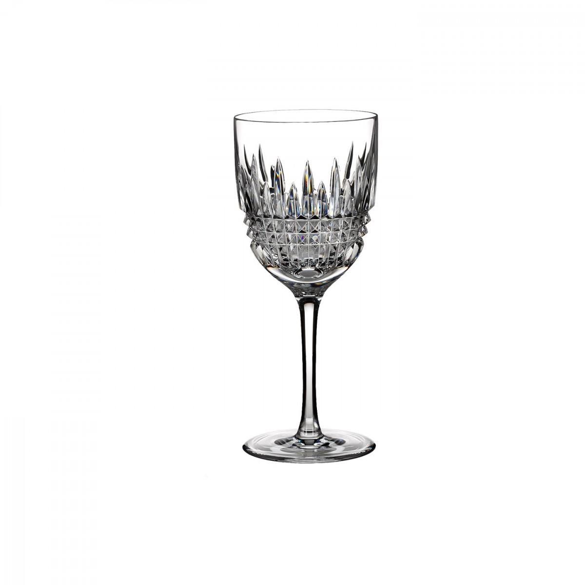 Waterford Crystal, Lismore Diamond Crystal White Wine, Single