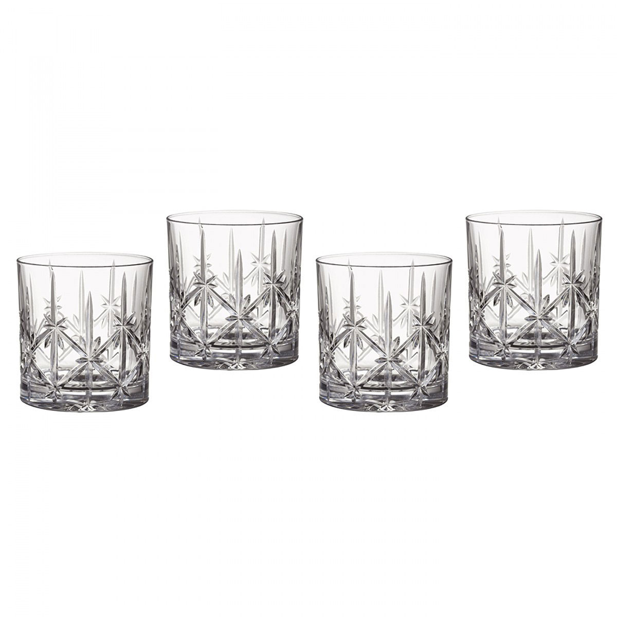 Marquis by Waterford Crystal, Sparkle DOF Tumbler, Set of Four
