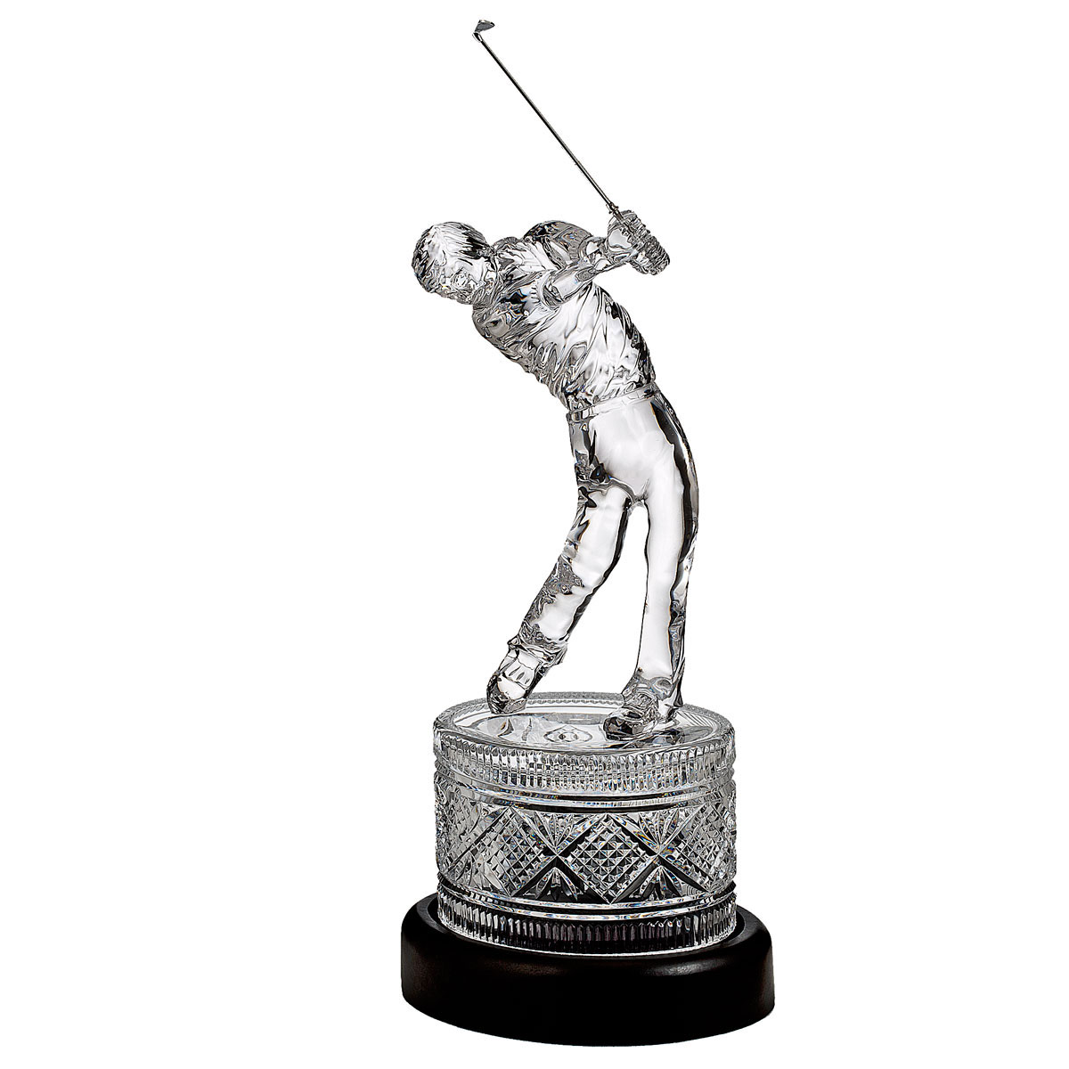 Waterford Crystal, House of Waterford Large Golfer, Limited Edition of 5