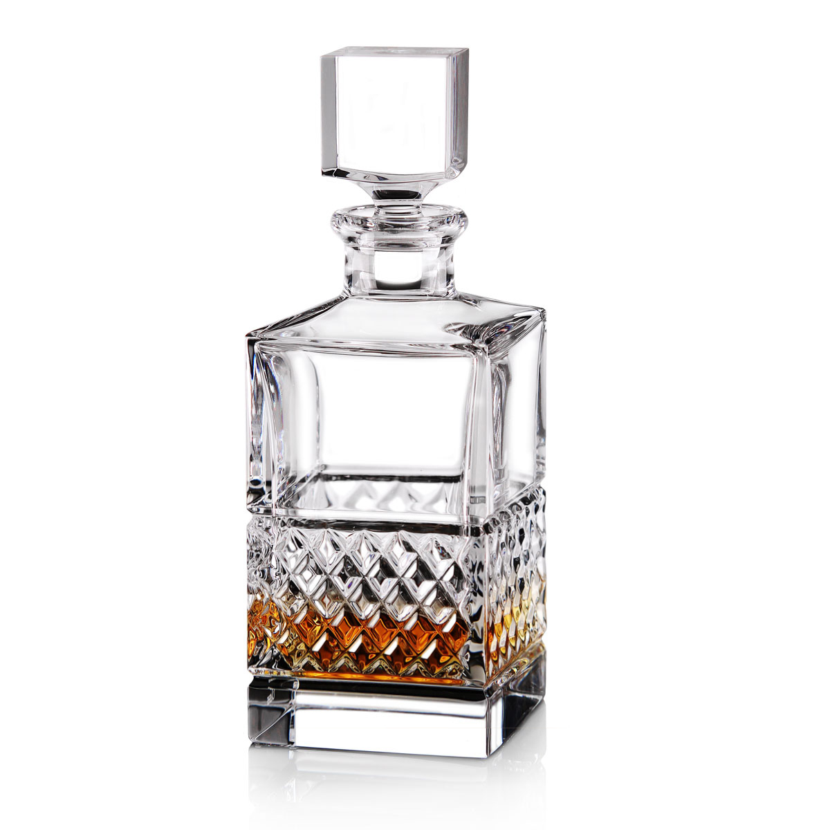 Cashs Ireland, Cooper Single Malt Whiskey Square Decanter