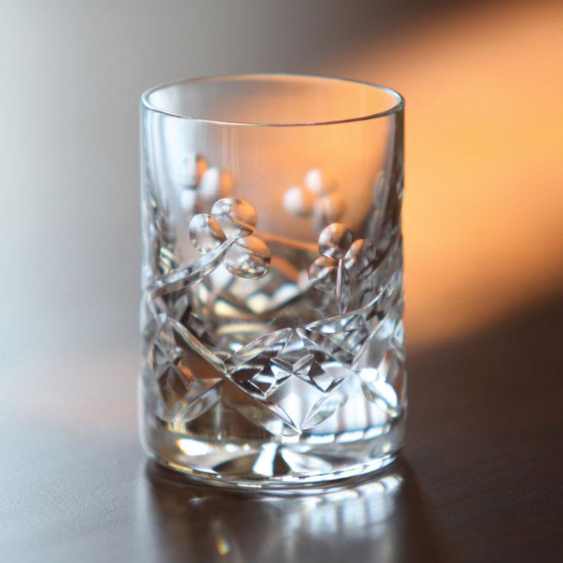 Cashs Ireland, Lucky Shamrock Crystal Shot Glass