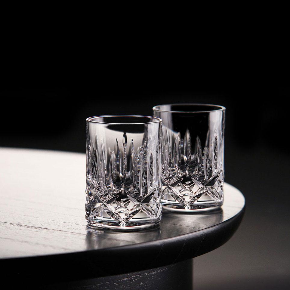 Cashs Ireland, Blarney City Crystal Shot Glass, Single