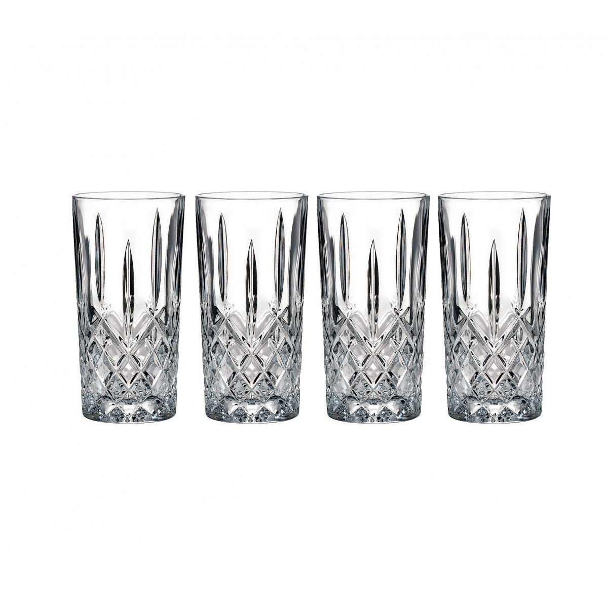 Marquis by Waterford Crystal Markham Crystal Hiball, Set of Four