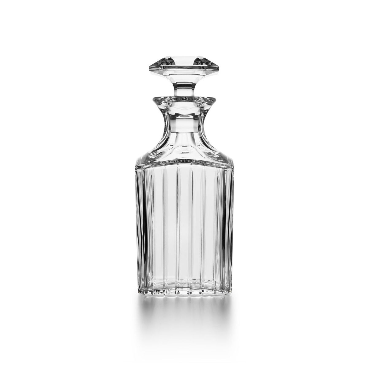 Baccarat Harmonie Square Whiskey Decanter