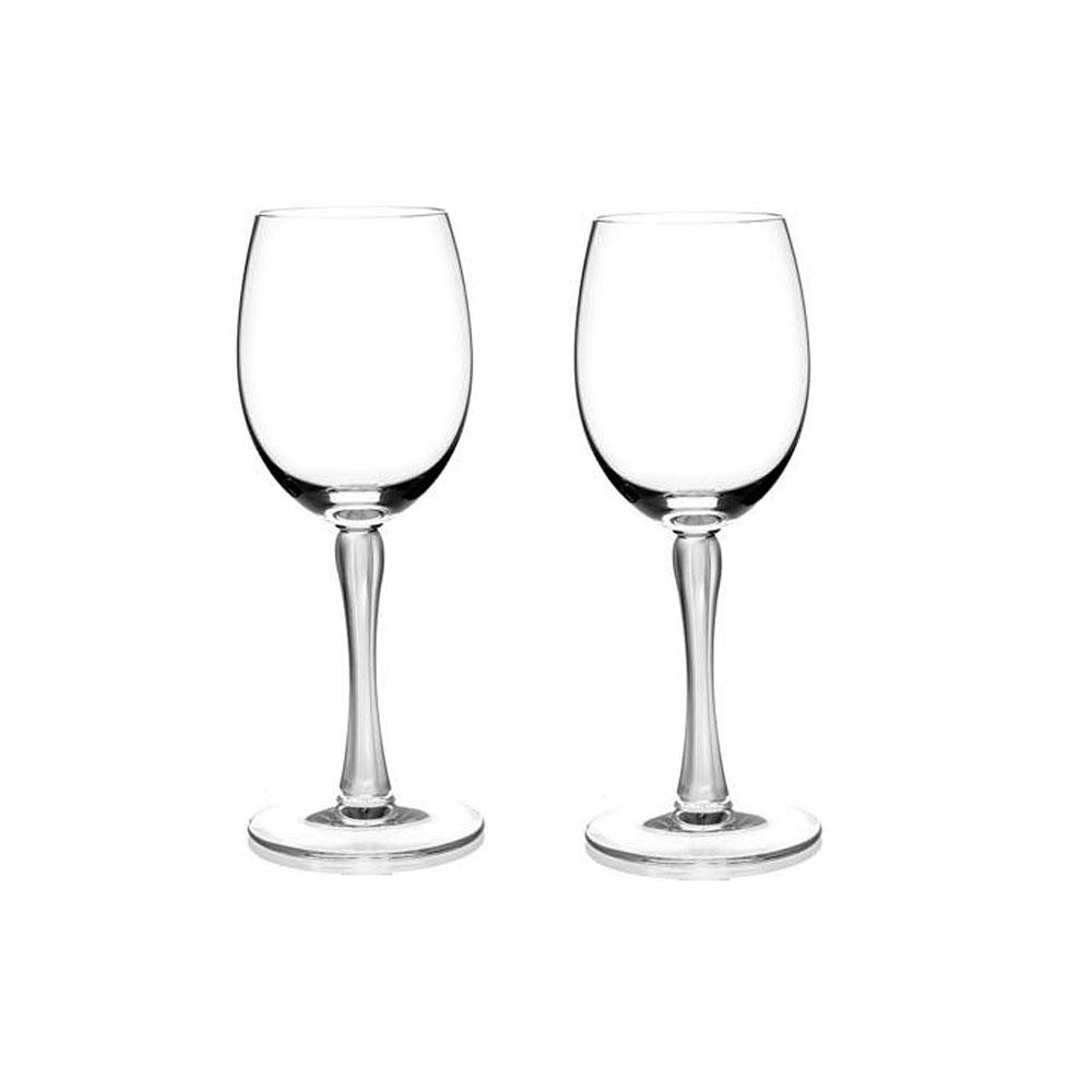 Lalique Royal Water Glasses, Pair
