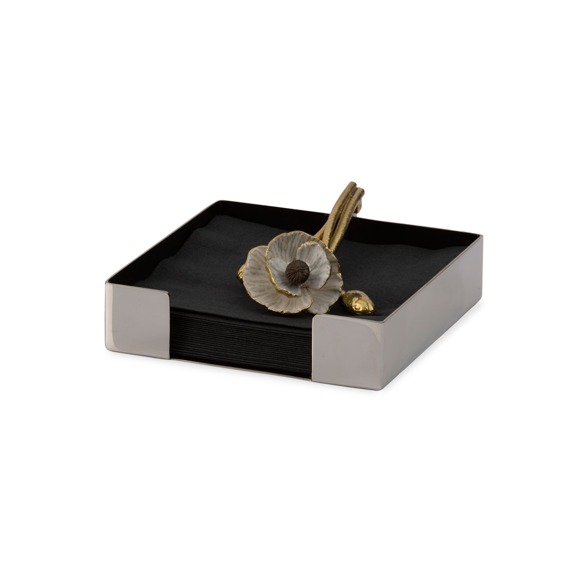 Michael Aram Anemone Cocktail Napkin Holder