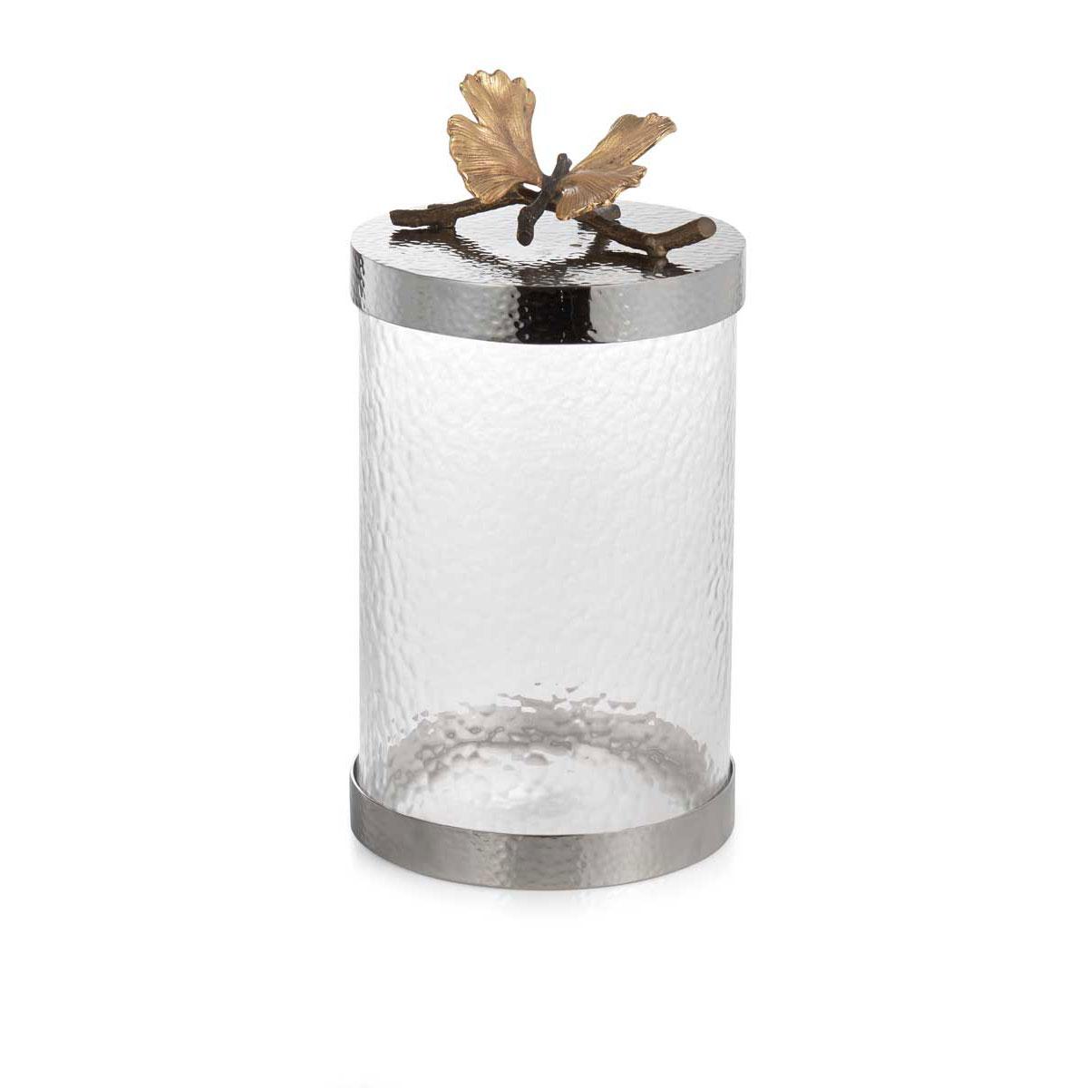 Michael Aram Butterfly Ginkgo Kitchen Canister, Medium