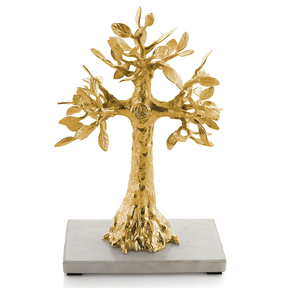 Michael Aram Foliated Cross Sculpture Brass
