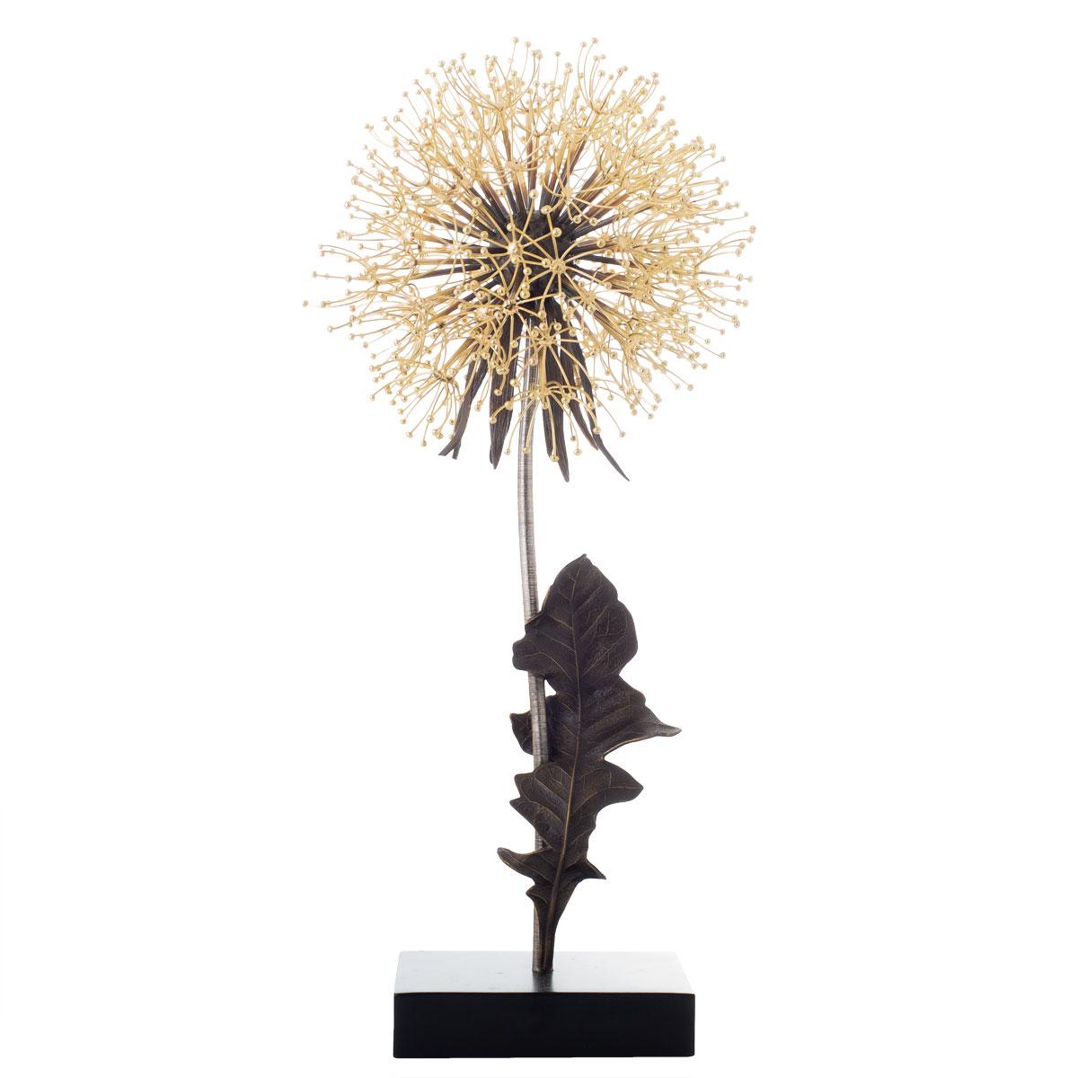 """Michael Aram Dandelion 25"""" Sculpture, Limited Edition"""
