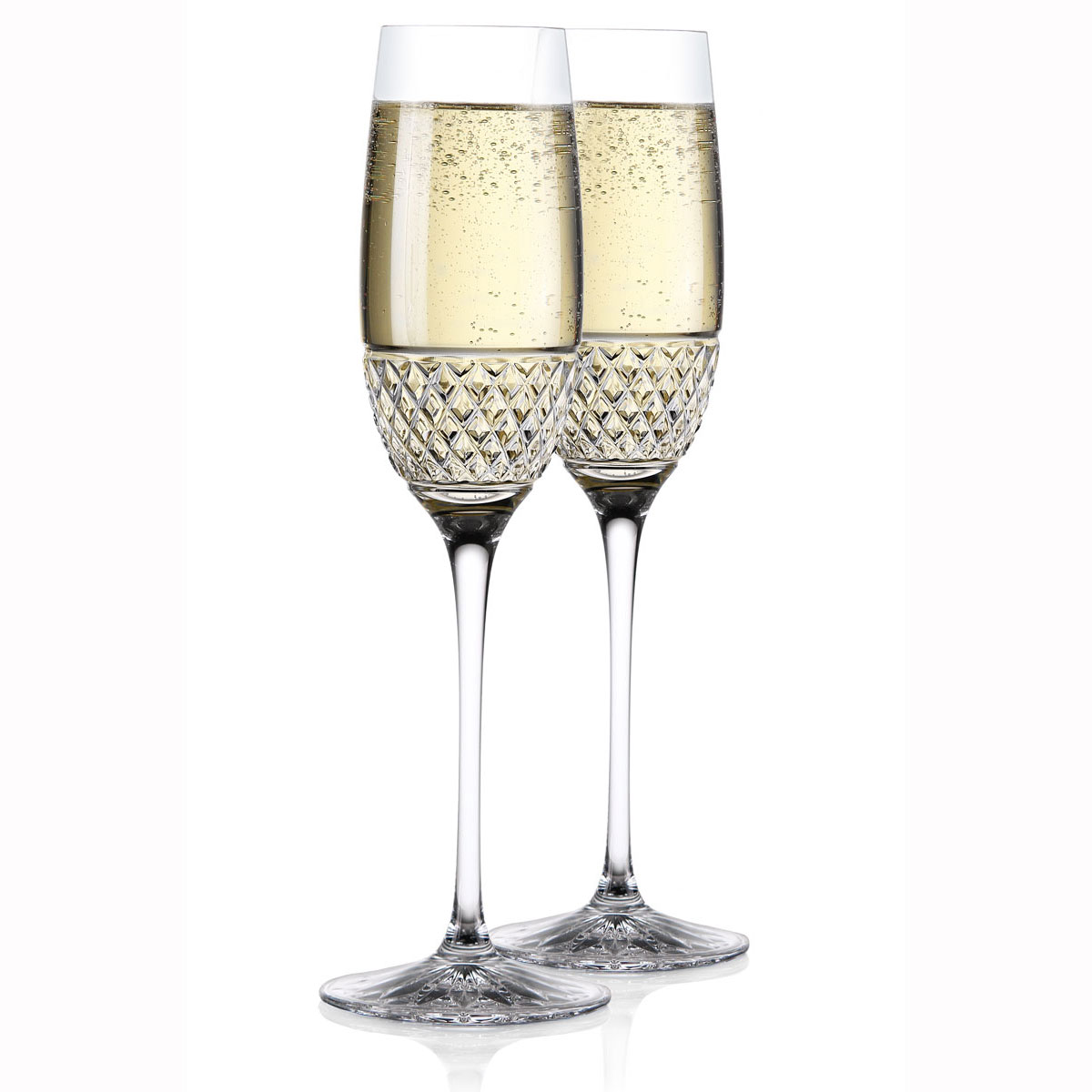 Cashs Ireland, Cooper Celebration Toasting Flutes, Pair
