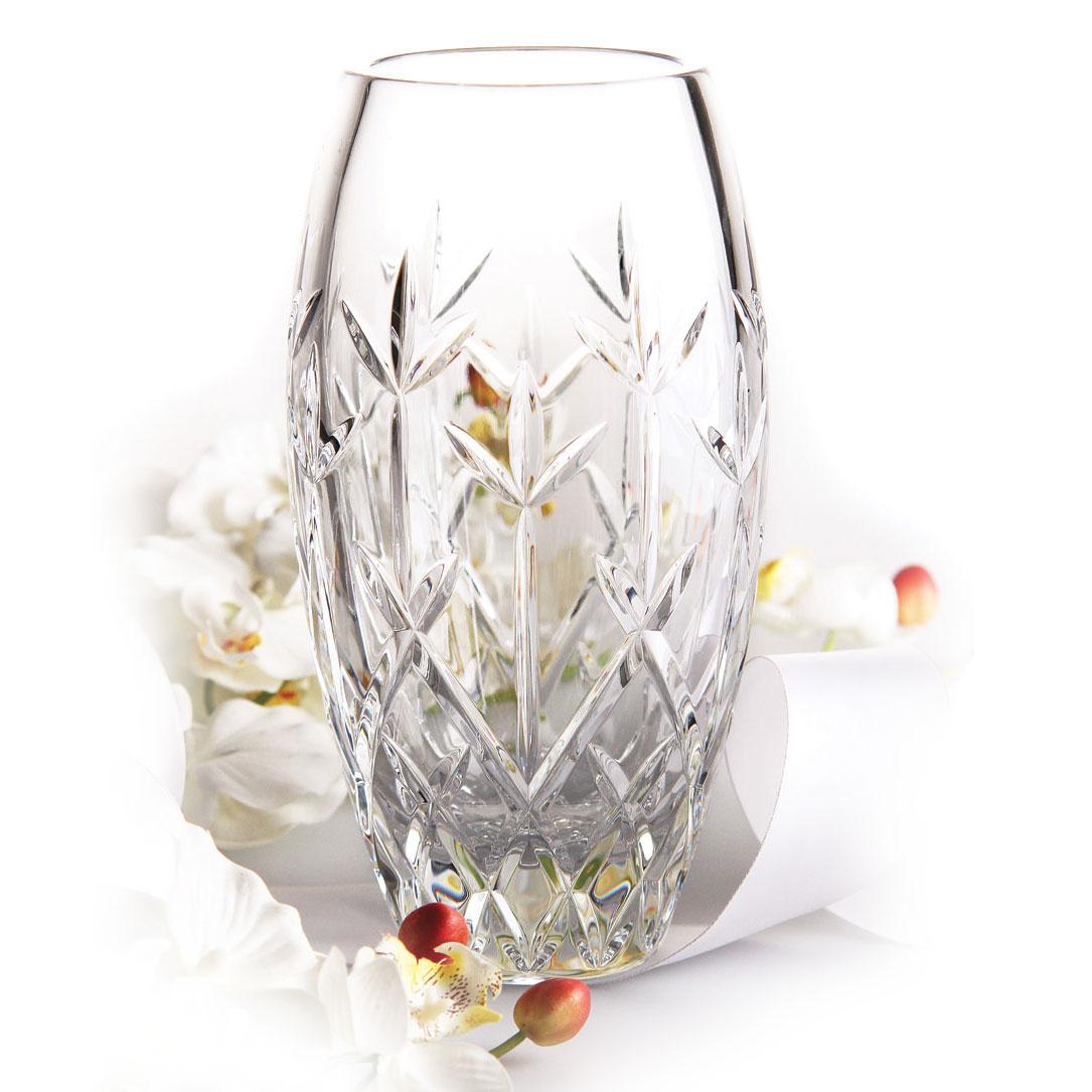 """Cashs Ireland, Hawthorne Fairy 10"""" Rose Vase"""