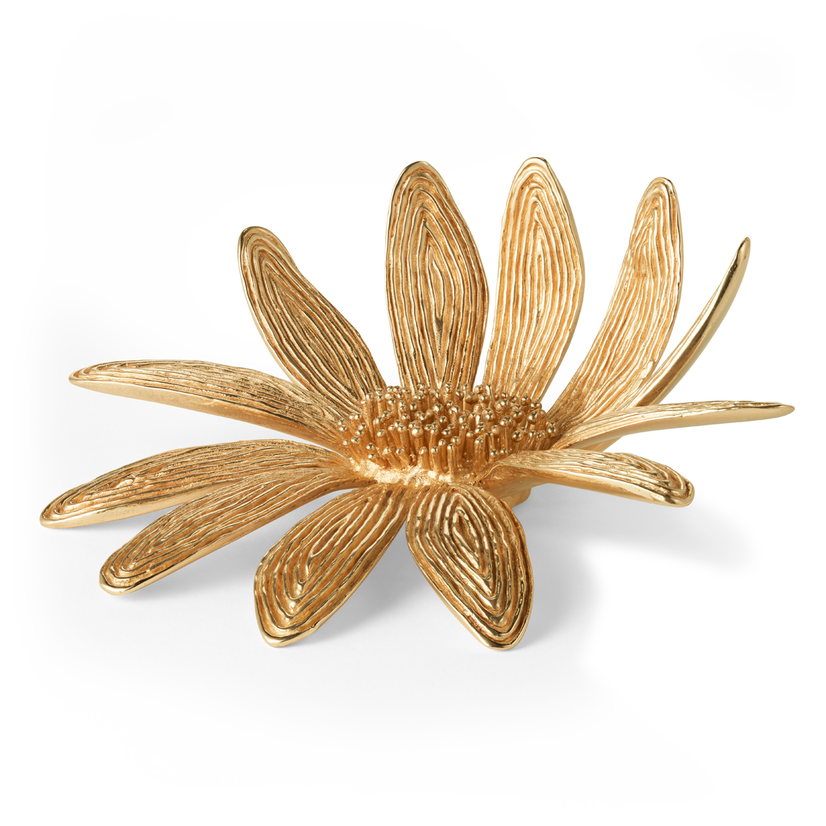 Aerin Marguerite Brass Flower Sculpture
