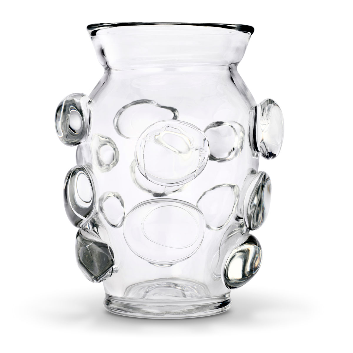 "Aerin Abel 9"" Vase, Clear"
