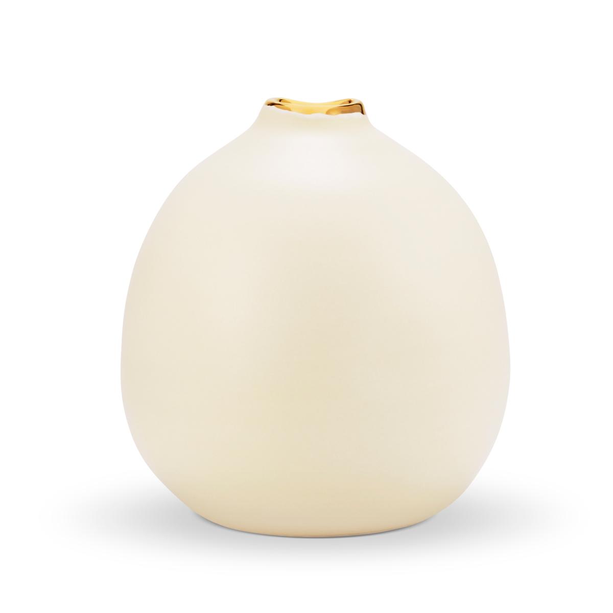 Aerin Eloise Medium Bud Vase, Cream