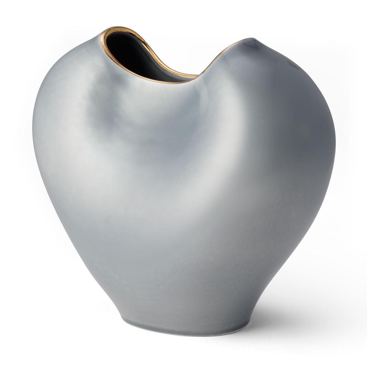 "Aerin Paola 9.5"" Vase, Dusk Blue"