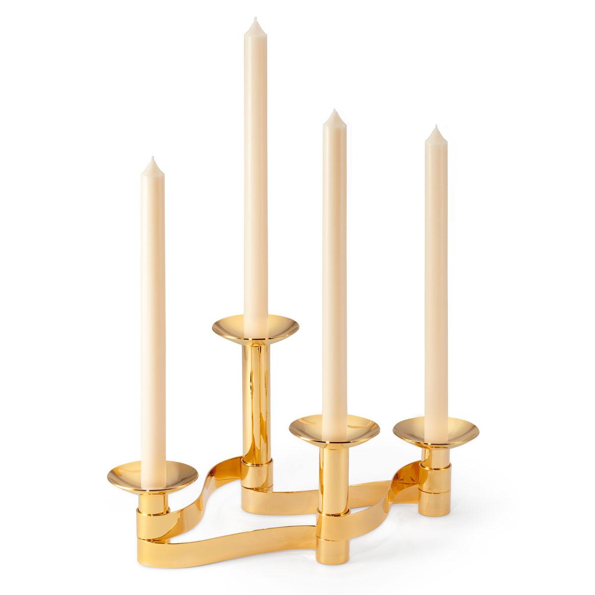 Aerin Evelina Candleholder Centerpiece Set of 4