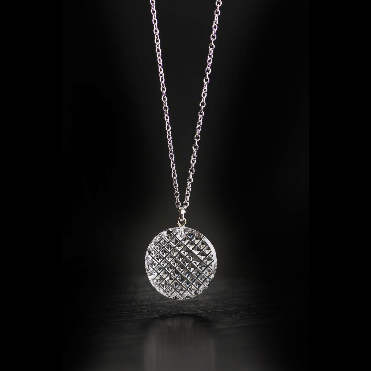 Cashs Ireland, Crystal Kerry Pendant Necklace, Medium