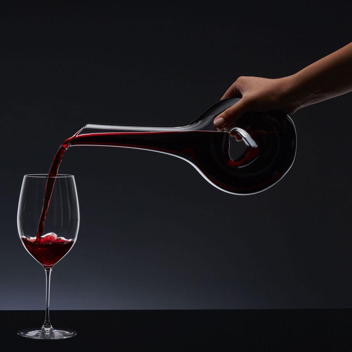 Riedel Sommeliers Black Tie Bliss Crystal Wine Decanter