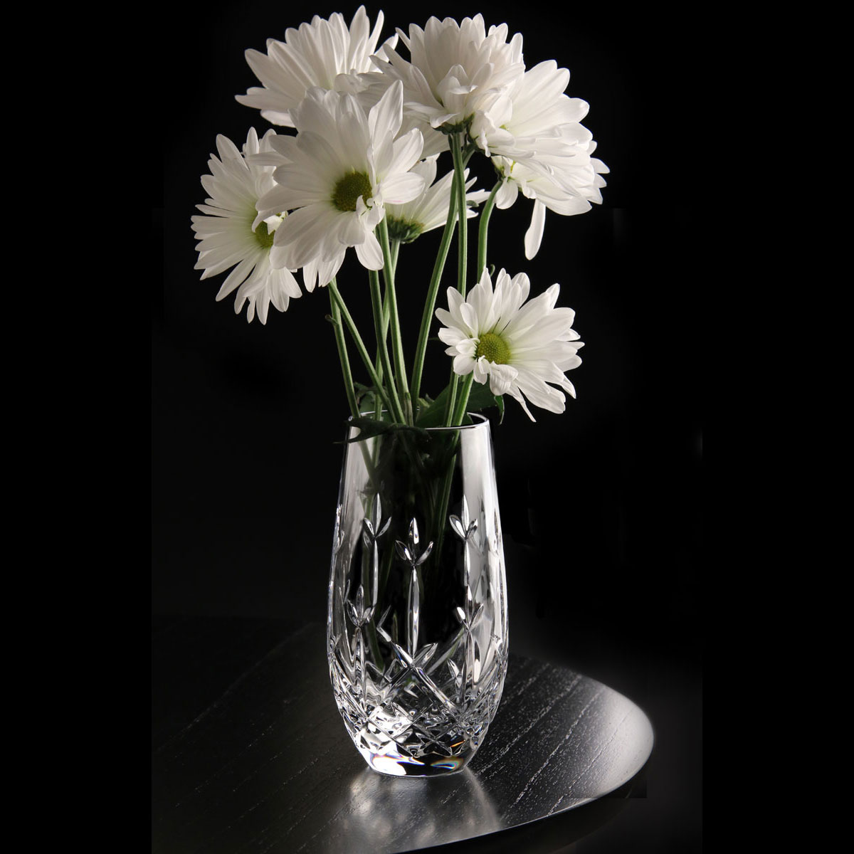 "Cashs Ireland, Hawthorne Fairy 6"" Crystal Vase"