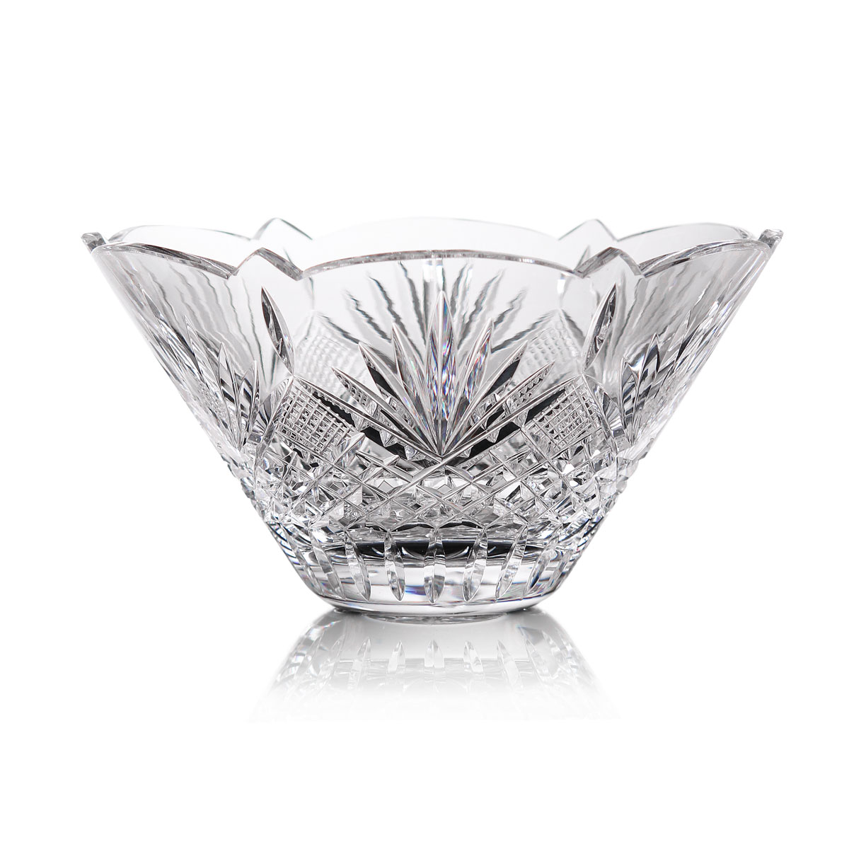 Cashs Ireland, Art Collection, Trellis Crystal Bowl