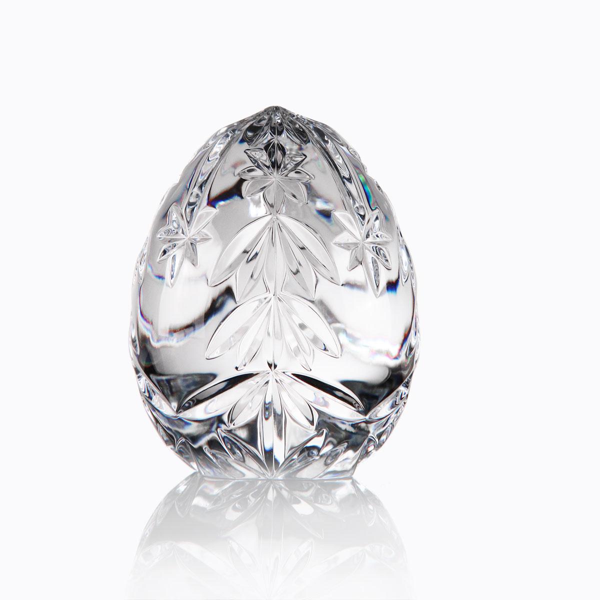 Cashs Ireland, Crystal Christmas Tree Egg