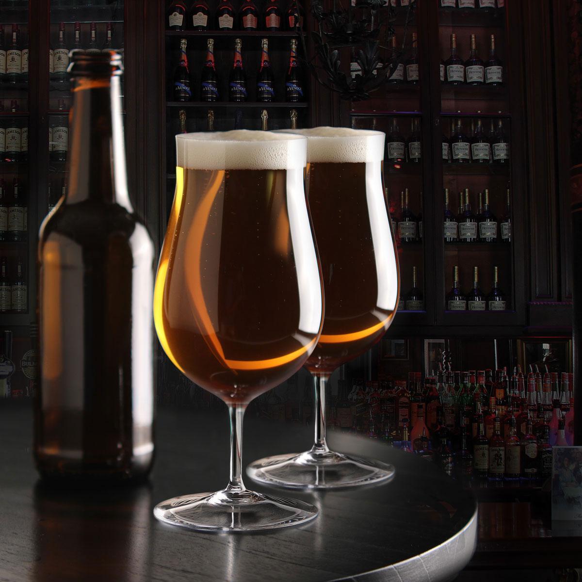 Cashs Ireland, Grand Cru Handmade Craft Beer Glasses, Pair