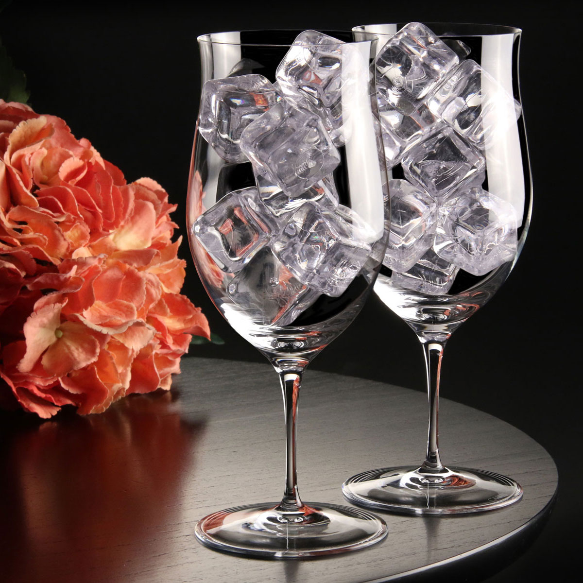 Cashs Ireland, Grand Cru Handmade Water, Soft Drinks Crystal Glasses, Pair