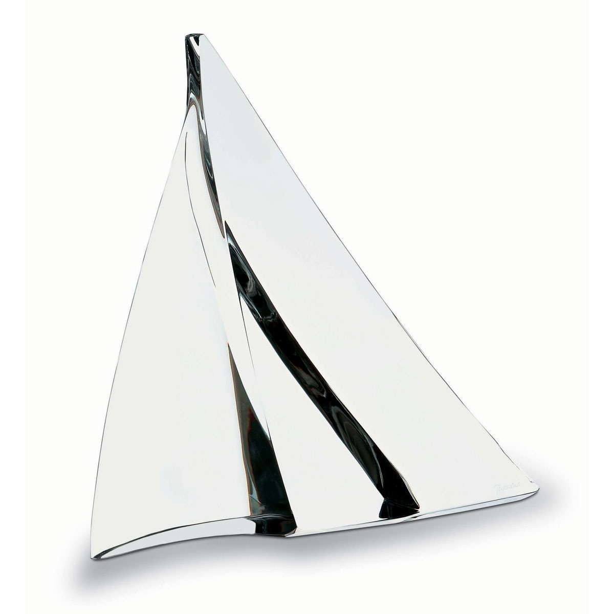 Baccarat Crystal, Alizee Sailboat Sculpture, Clear