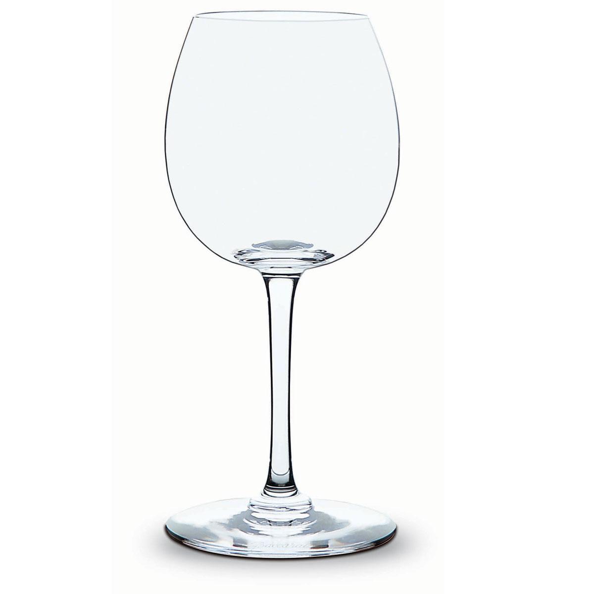 Baccarat Crystal, Oenologie Burgundy, Single