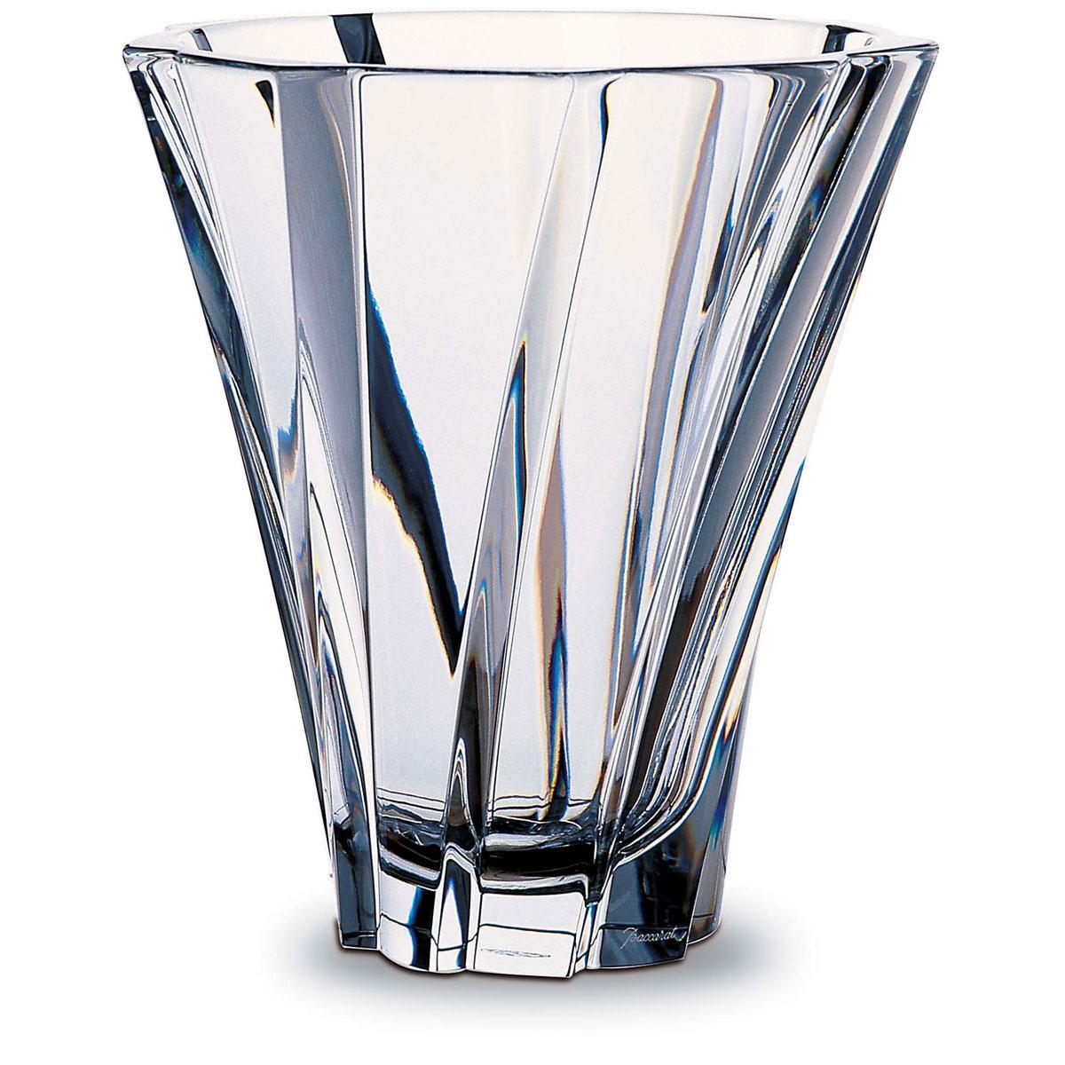 "Baccarat Crystal, Objectif 8 1/4"" Crystal Vase"