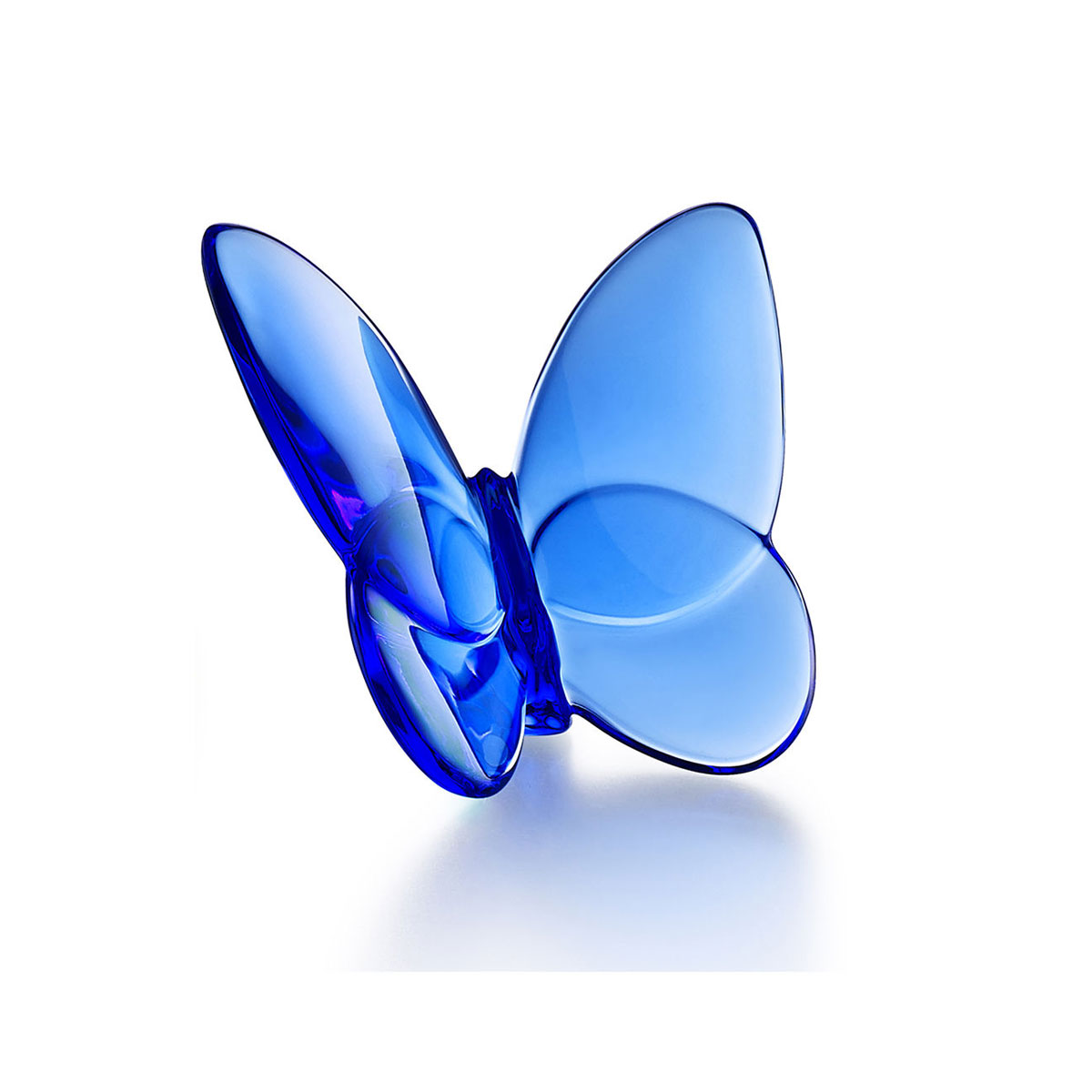 Baccarat Crystal, Lucky Butterfly, Blue