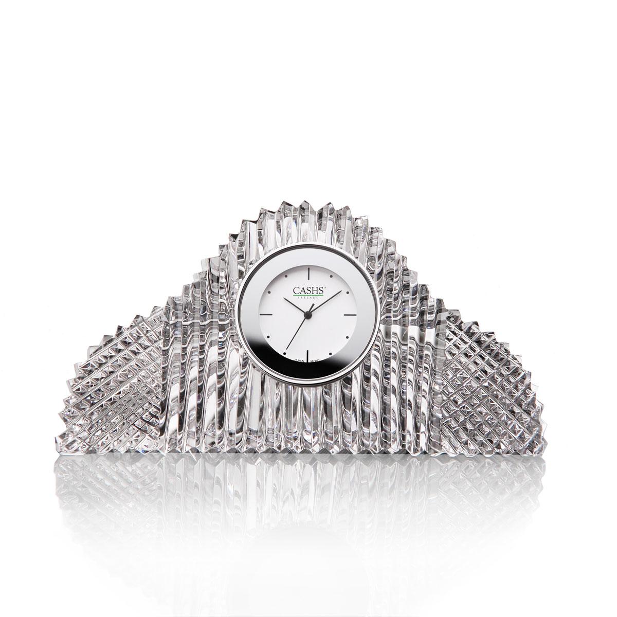 Cashs Ireland, Georgian Mantle Crystal Clock