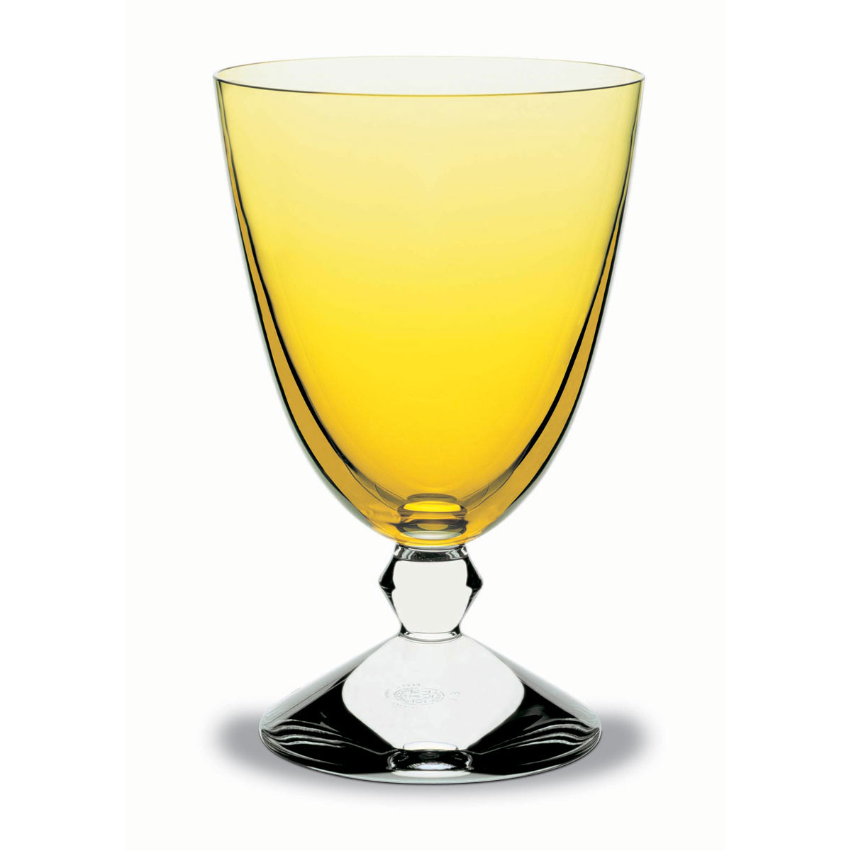 Baccarat Crystal, Vega Water Glass Amber, Single