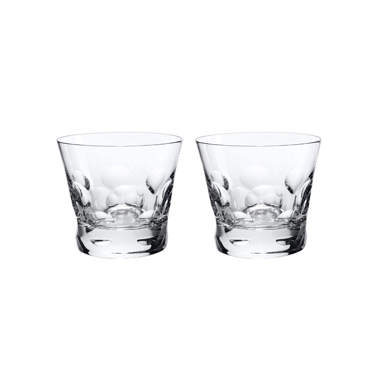 Baccarat Crystal, Beluga Crystal Tumber OF #3, Pair