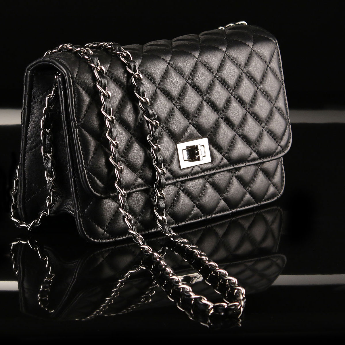 Cashs Ireland, Top Grain Leather Cooper Handbag, Black, Limited Edition