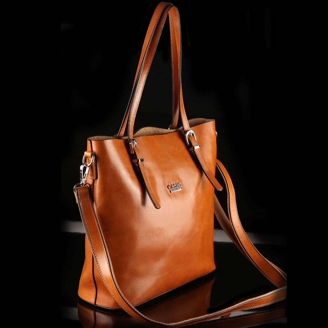 Cashs Ireland, Top Grain Leather Camel Adare Tote Handbag, Limited Edition