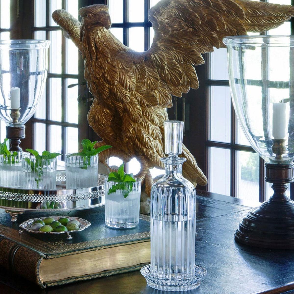 Baccarat Mille Nuits Wine Bottle Coaster