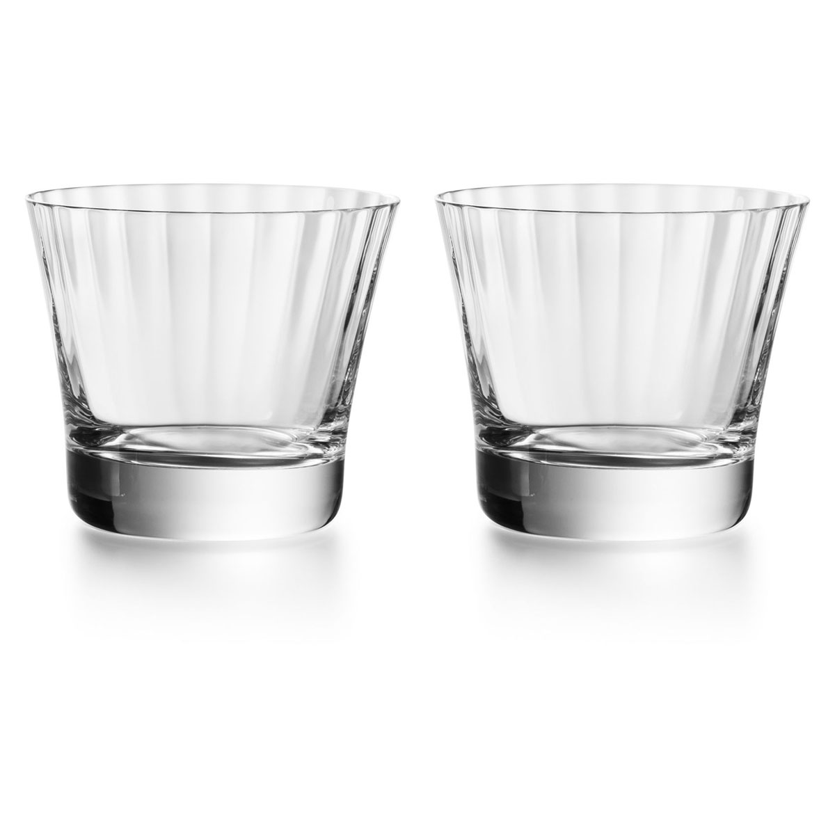 Baccarat Crystal, Mille Nuits OF Tumbler of No. 3, Boxed Pair