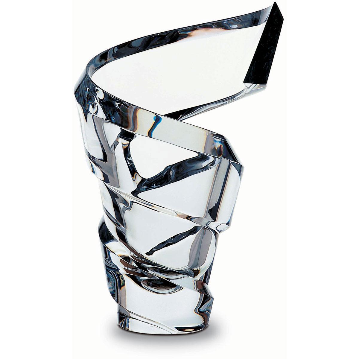 "Baccarat Crystal, Spirale 16"" Crystal Vase, Limited Edition of 500"