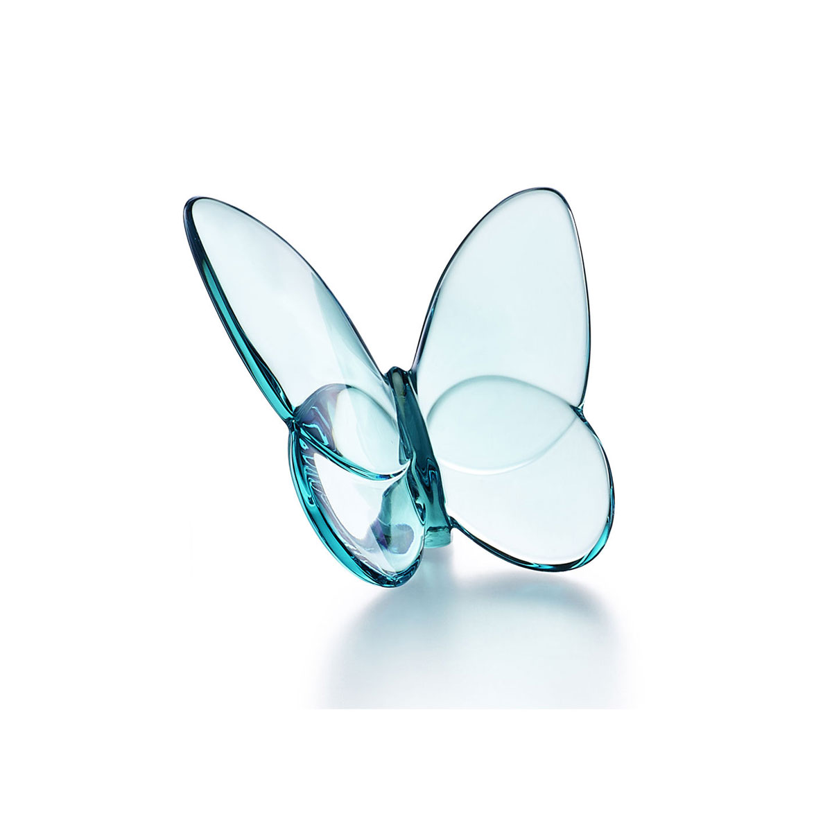 Baccarat Crystal, Lucky Butterfly, Turquoise