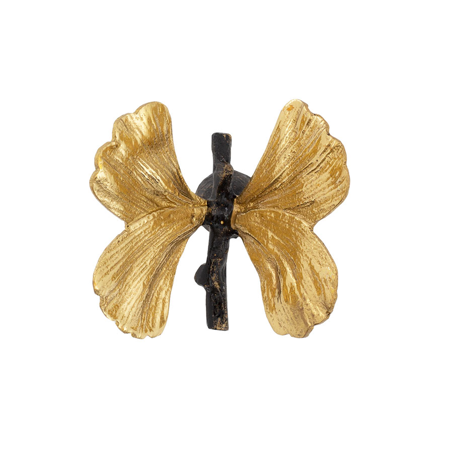 Michael Aram Hardware Butterfly Ginkgo Small Knob