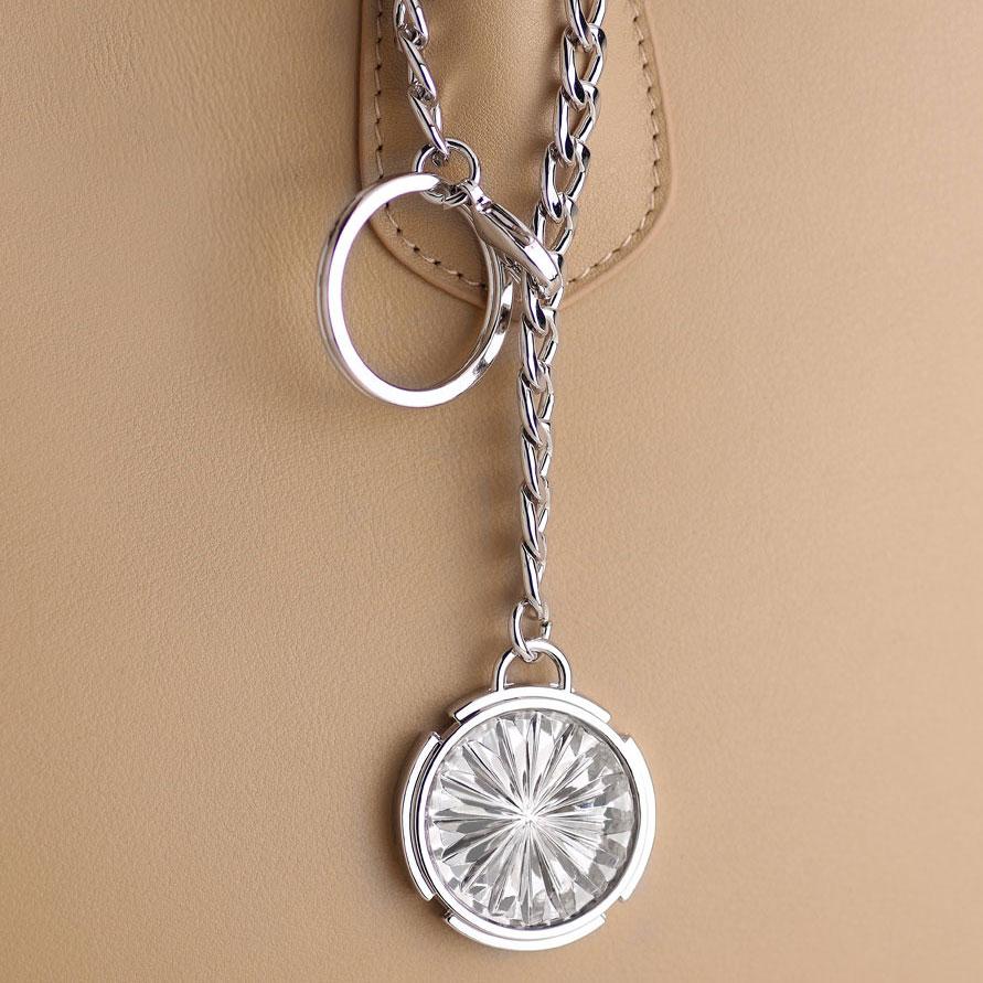 Cashs Ireland Newgrange Crystal Bag Charm and Key Ring