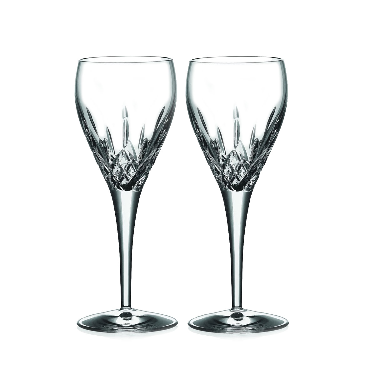 Galway Crystal Longford Wine, Pair