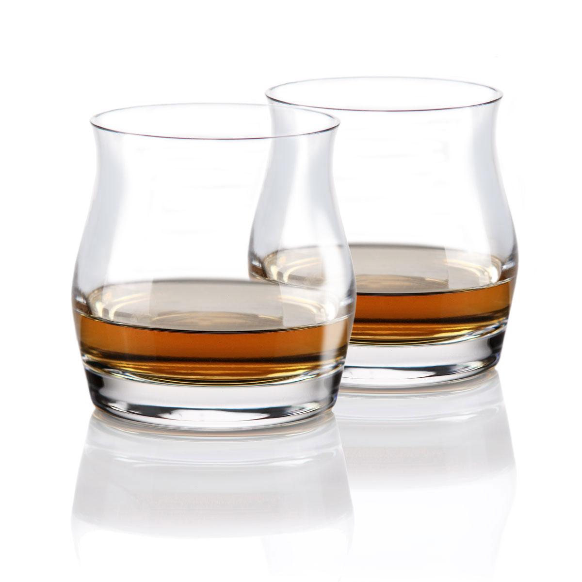 Cashs Ireland, Grand Cru Handmade Highland Single Malt Whiskey Glasses, Pair