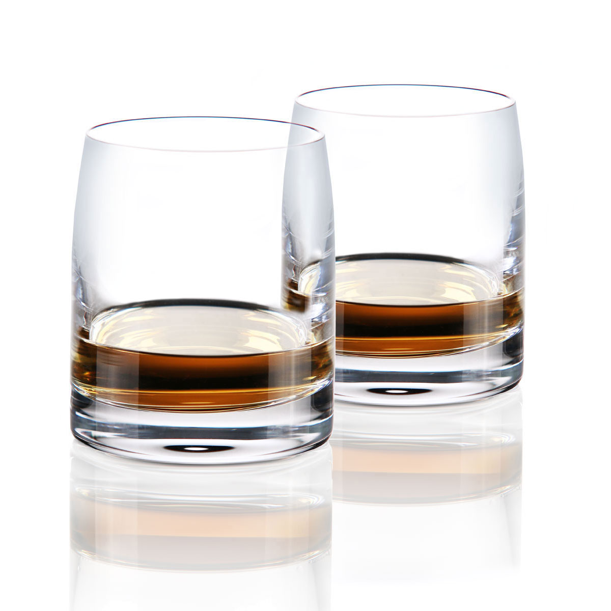 Cashs Ireland, Grand Cru Handmade Islay Single Malt Whiskey DOF Glasses, Pair