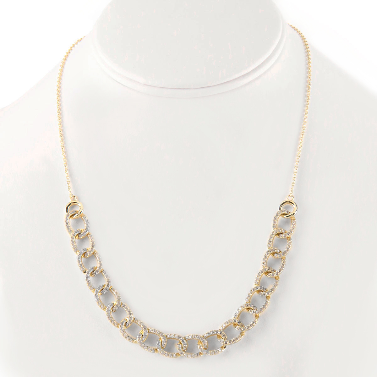 Cashs Ireland, Gold Link Necklace